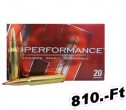Hornady 6,5x55 GMX 120gr 7,8g Superformance Golyós lőszer