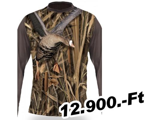Pólók Hillman 3D hosszú ujjú póló libás - vadászat vadászbolt 5529b42c1b